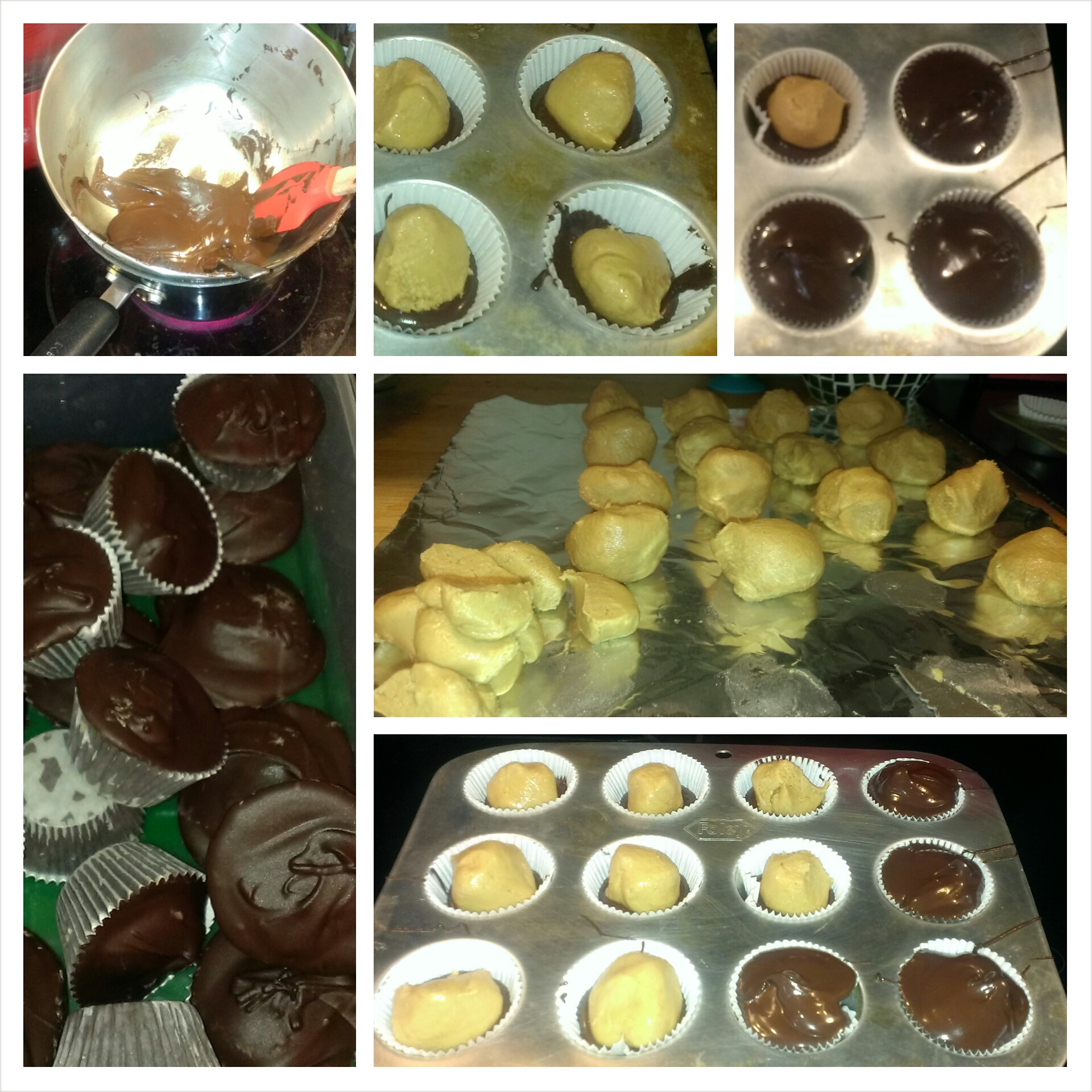 My newest baking obsession - homemade peanut butter cups!